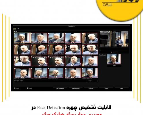 قابلیت تشخیص چهره – Face Detection در دوربین مدار بسته هایک ویژن