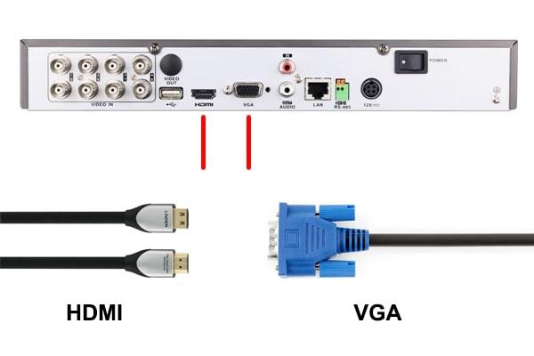 تفاوت کابل hdmi با vga در چیست ؟ از کدام کابل استفاده کنیم