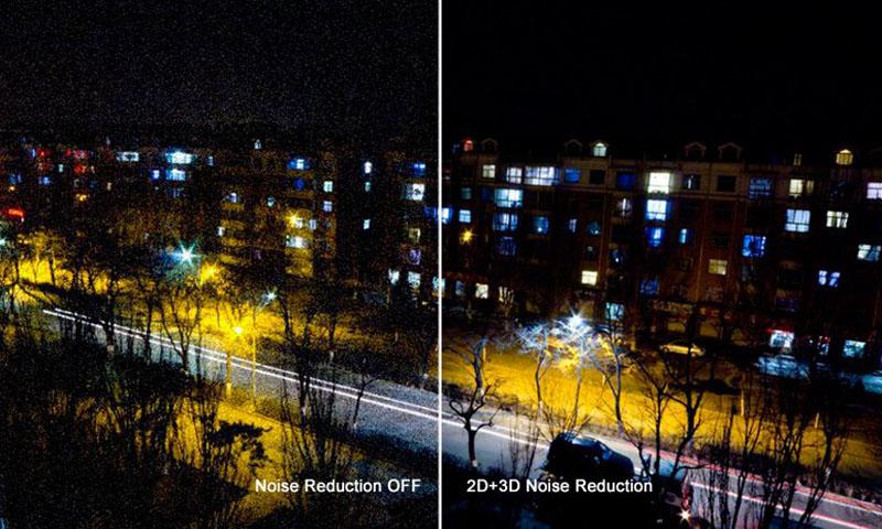 چگونگی کاهش نویز در دوربین مدار بسته