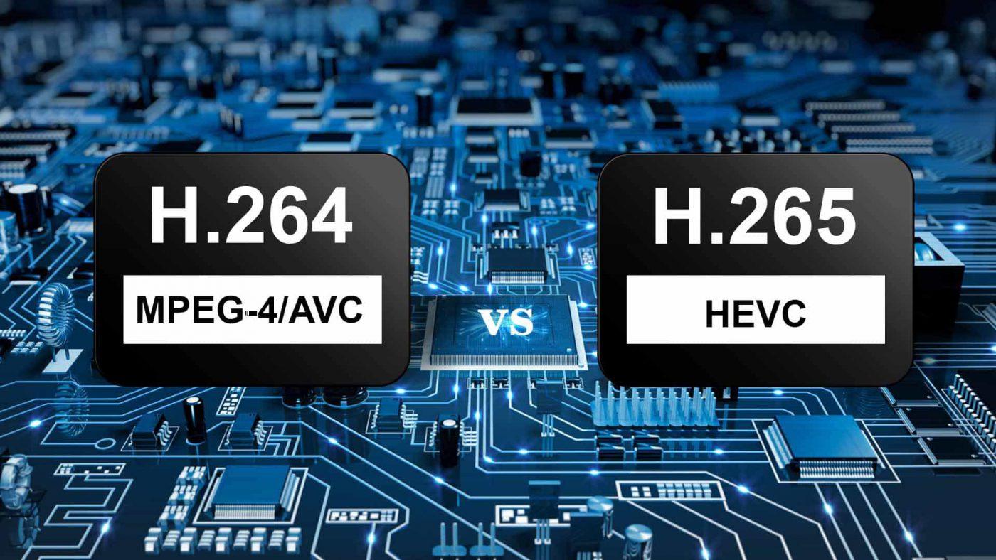 فشرده سازی فرمت های H.264 و H.265 + تفاوت